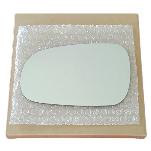 Mirror Glass and Adhesive 1990 - 1993 Accord / 1994 - 2001 Integra / 1992 - 1994 Vigor Driver Left Side Replacement Acura Integra Door Mirror