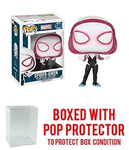 [Marvel Spider-Man Spider-Gwen Funko Pop with Box Protector] (Jessica Jones Marvel Costume)
