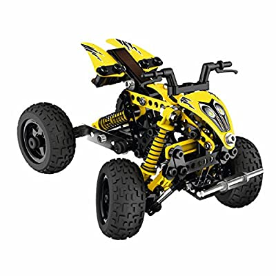 Erector Evolution ATV Vehicle: Toys & Games