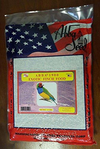 ABBA 1900 Bird Foods Exotic Finch Food (Abba Bird Food)