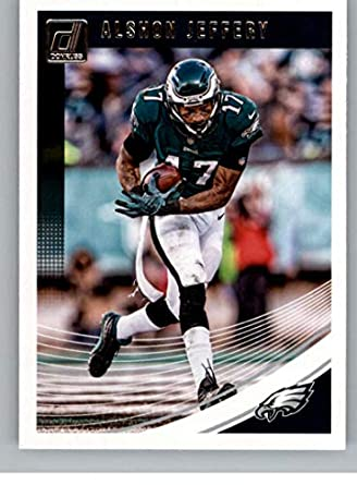35ef9fda609 2018 Donruss Football  230 Alshon Jeffery Philadelphia Eagles Official NFL  Trading Card