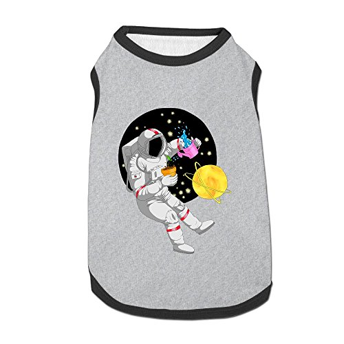 Nicokee Astronaut Puppy Dogs Shirts Costume Pets Clothing Warm Vest T-shirt Medium]()