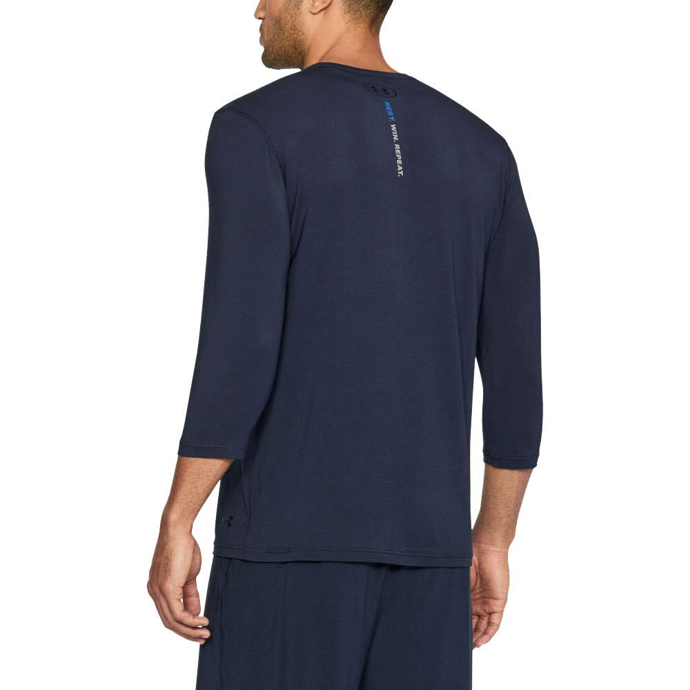 Under Armour Men Athlete Recovery Sleepwear Henley