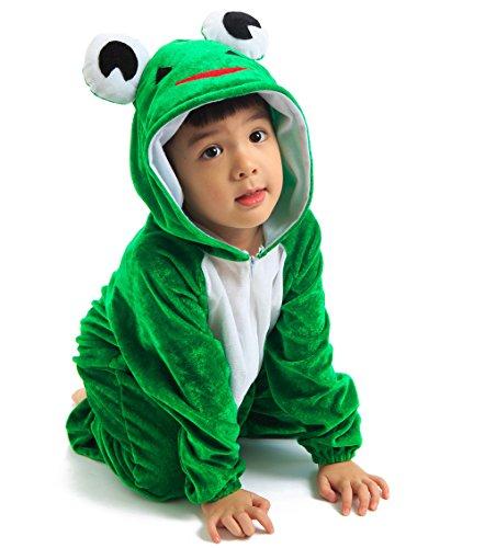 Astage Kids Animal Halloween Cosplay Onepiece Pajamas Outfit Homewear Robes Safari Costume -