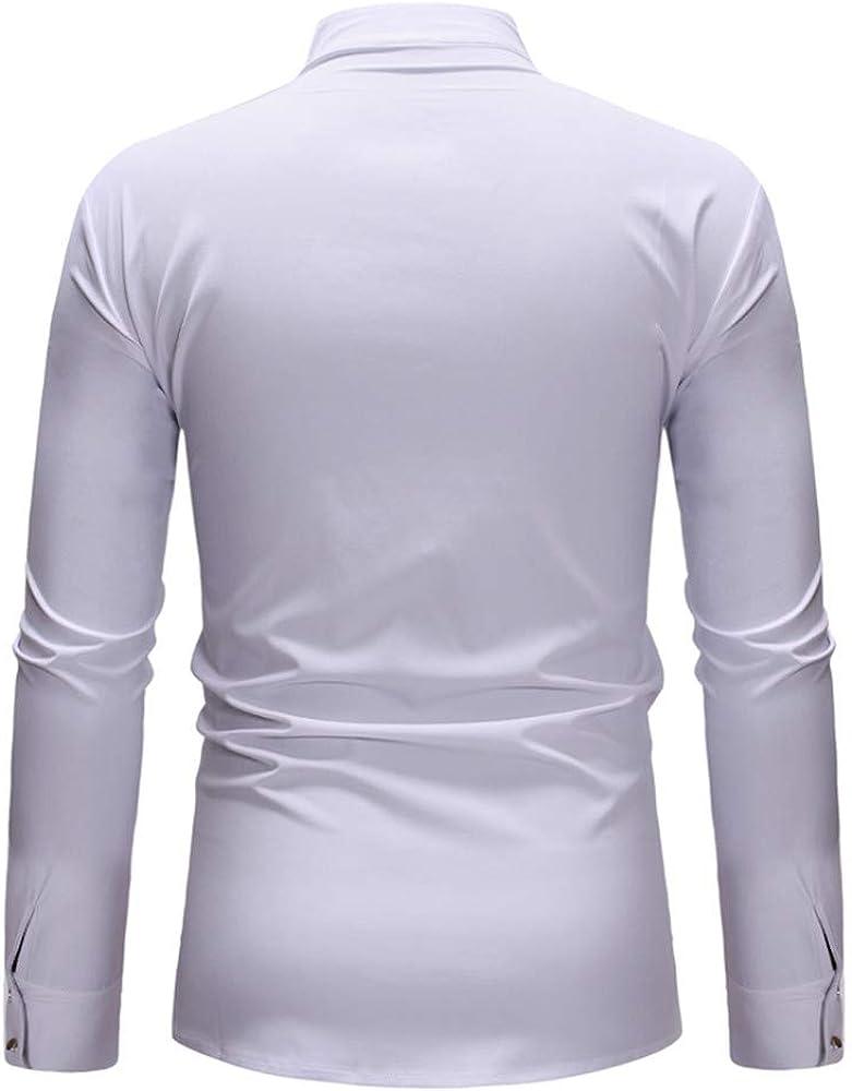 SXZG Camisa de Hombre de Tamaño Europeo Camisa Camisa Informal de Flores para Hombre Camisa de Manga Larga Estampada En Caliente: Amazon.es: Ropa y accesorios