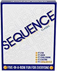 Sequence- Original Sequence Game with Folding Board, Cards and Chips by Jax ( Packaging May Vary ) White