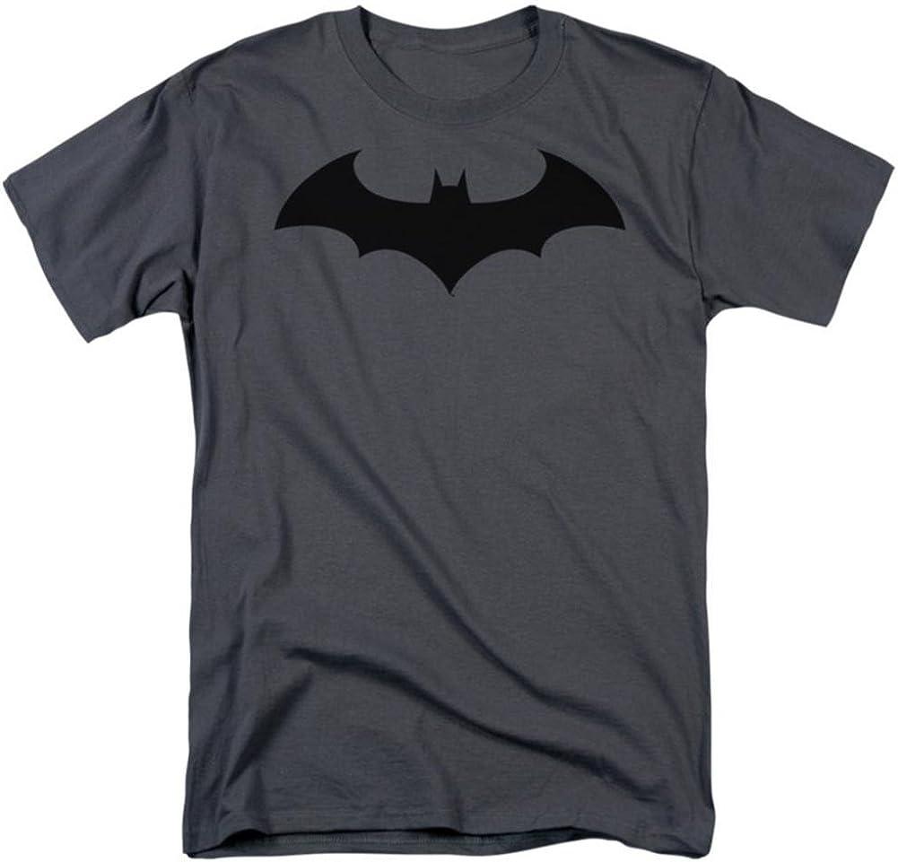Batman Classic Logo T Shirt Licensed Comic Book Tee Black