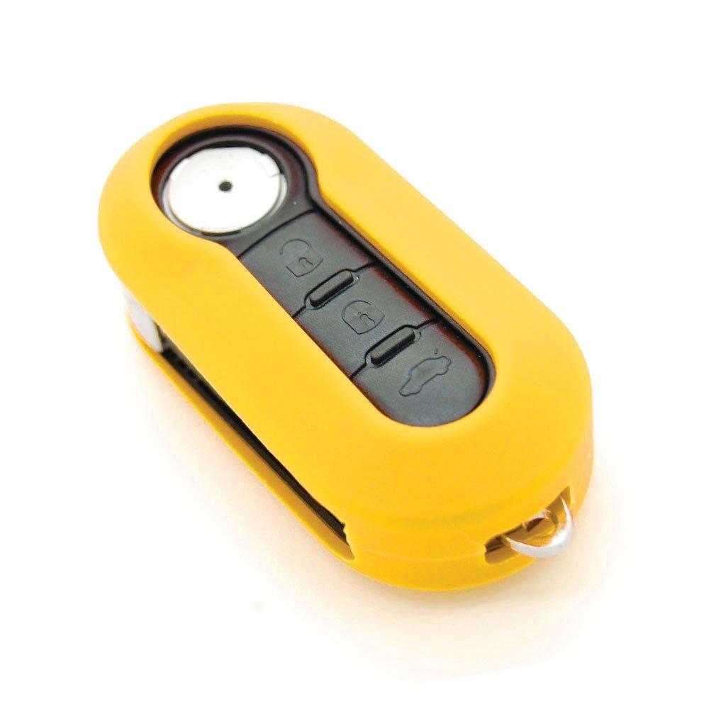 Funda de llave de silicona para coches marron