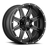 Fuel Maverick 20 Black Wheel / Rim 8x170 with a -24mm Offset and a 125.2 Hub Bore. Partnumber D53820001745