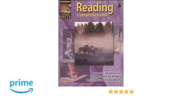 Core Skills: Reading Comprehension: Reproducible Grade 6: STECK ...