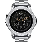 NIXON The Mission AndroidWear SmartWatch TouchScreen Gray/Silver 48mm