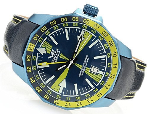 Vostok Europe Radio Room Automatic Men's Analog Limited Edition Watch Blue 2426/225D268