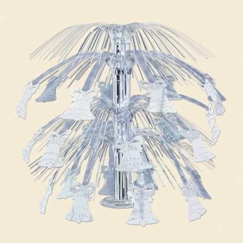 Bell Cascade Centerpiece (Bell Cascade Centerpiece (silver) Party Accessory  (1 count) (1/Pkg))