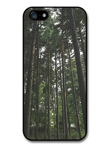 Hipster Design Trees Forest Green Inspirational Photography case for iPhone 5 5S