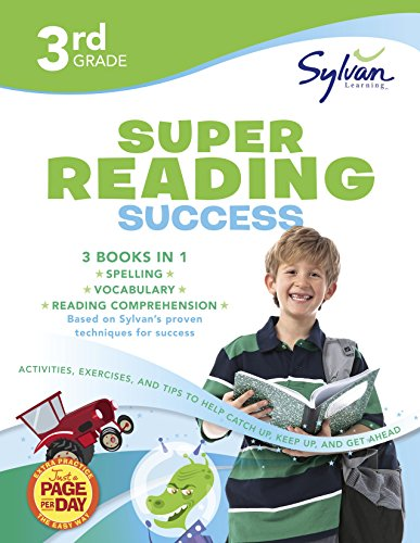 3rd Grade Jumbo Reading Success Workbook: 3 Books in 1–Spelling Success, Vocabulary Success, Reading Comprehension…