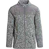 Marqt Outdoor Quilted Yoke Sweater Mens Jacket Deals