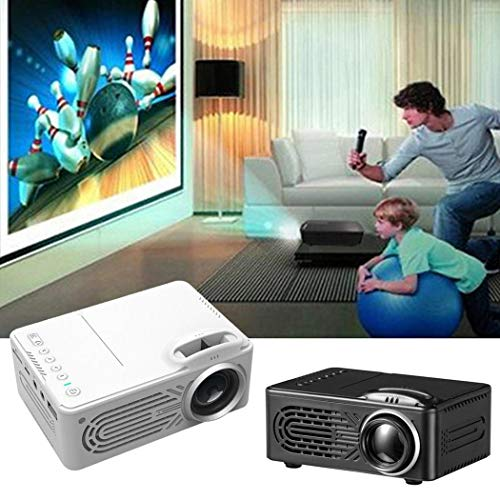 Kindsells Mini Projector, 1080P Full HD LED Multimedia Video Movie Projector for Home Theater Cinema, Movie, Phone, Chromecast, TV, Laptop, DVD from Kindsells