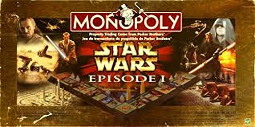 Monopoly Star Wars Episode I Board Game Made by Hasbro (Star Wars 80s)