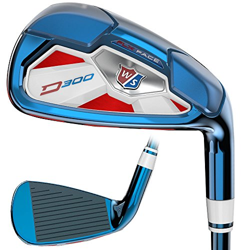 Wilson Staff US Open Limited Edition PVD D300 Iron Set 2017 Right 4-PW