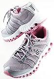 K-Swiss Tubes Run 100 MESH Women's Running Shoes US 3 1/2 EU 35 1/2 Pink Grey Silver