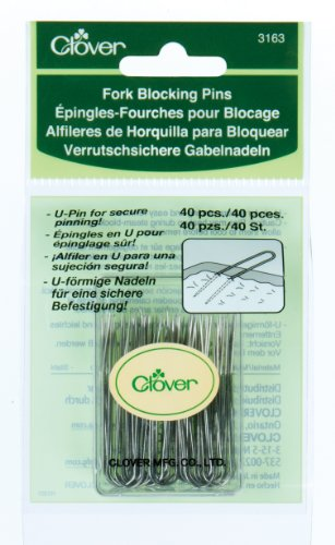 Clover 3163 Fork Blocking 40 Count U-Pins, 1-3/4-Inch