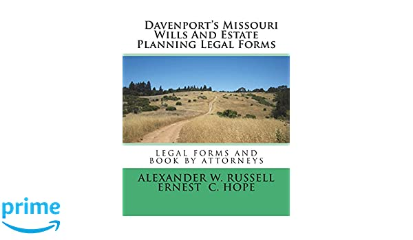Davenports Missouri Wills And Estate Planning Legal Forms - Missouri legal forms