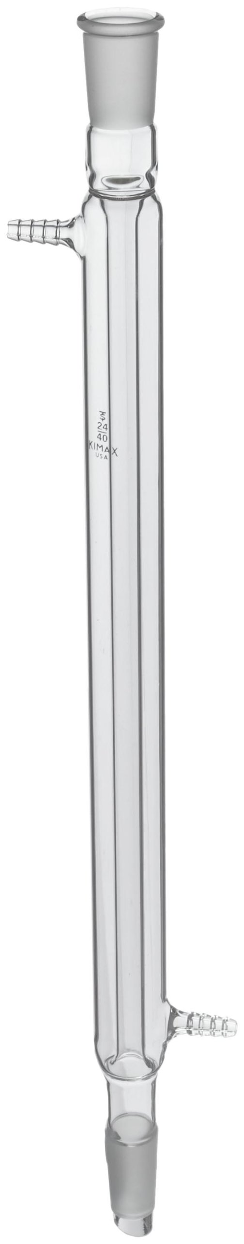 Kimble 18140-400 Glass Liebig Condenser with Drip Tip and Full Length, 24/40 Joint, 400mm Jacket Length