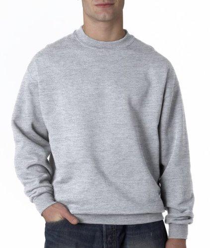 Jerzees Men's Super Sweats Crew Neck Sweatshirt (Sweatshirt Crewneck Super Sweats)