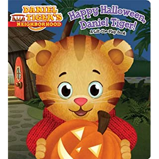 Happy Halloween, Daniel Tiger!: A Lift-the-Flap Book (Daniel Tiger's Neighborhood)