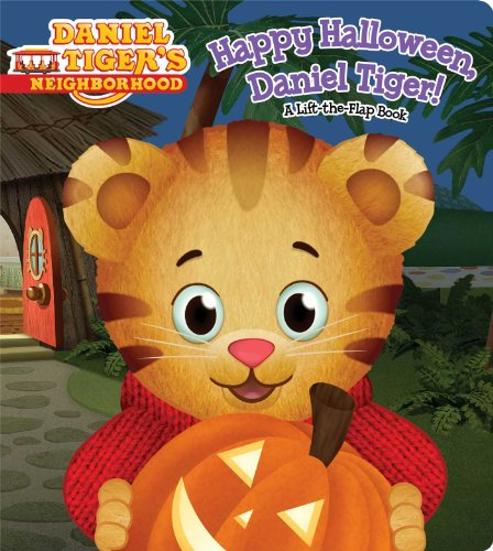 Halloween Book (Happy Halloween, Daniel Tiger!: A Lift-the-Flap Book (Daniel Tiger's Neighborhood))