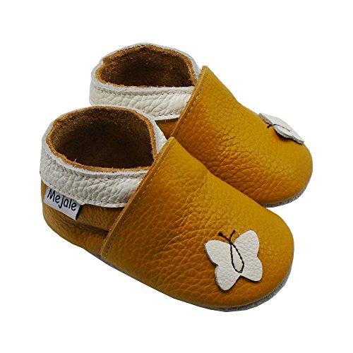 Chaussures Papillon Pantoufles Cuir Mejale Marron Dessin Souple Enfants Animé Premiers Pas Chaussons vxwCgZt