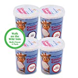 Cotton Candy - All Natural Candy Floss (4 Pack - Maple Bacon, Sweet Mesquite, Cinnamon Fireball, Peppermint) Premade Gourmet Flavors - Walk on the Wild Side