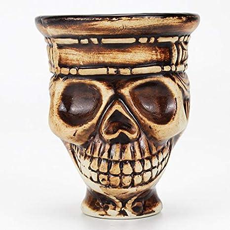 F-denghui, Skull Hookah Shisha Tobacco Bowl Shisha Bowl Holder Head Accesorios for Nargile Sheesha Narguile Chicha Cachimbas, sin Tabaco y sin nicotina (Color : Bowl 1)