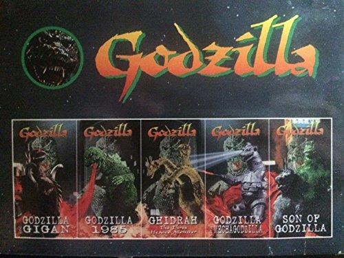 Godzilla 5-Pack (Godzilla vs. Gigan, Godzilla 1985, Ghidrah the Three-Headed Monster, Godzilla vs. MechaGodzilla, Son of Godzilla ) [VHS]