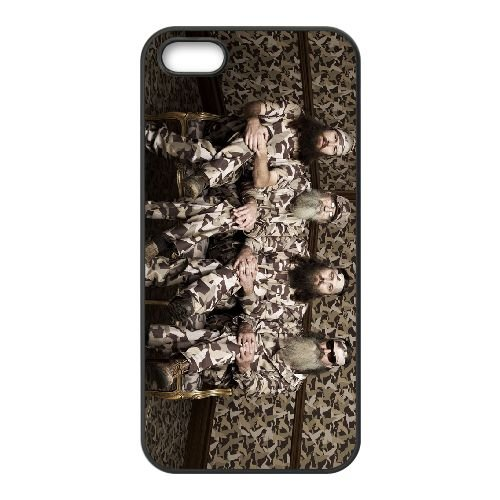 Happy Happy Happy Camouflage Duck Dynasty 004 coque iPhone 4 4S cellulaire cas coque de téléphone cas téléphone cellulaire noir couvercle EEEXLKNBC25583
