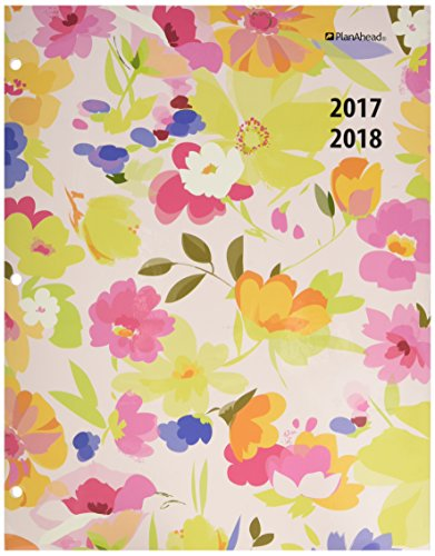 PlanAhead Plan Ahead See It Bigger 2 Year Monthly Planner, 2017-2018, Assorted Colors, Color May Vary (87067)
