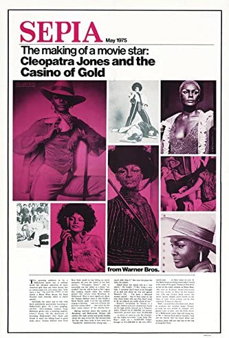 Amazon Com Cleopatra Jones And The Casino Of Gold Movie Poster Or Canvas Posters Prints