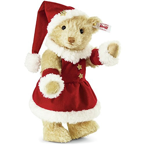 Steiff 2015 world limited Mrs. Santa Claus teddy bear Steiff Mrs.Santa Claus Teddybear