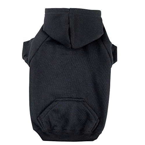 Zack & Zoey Basic Hoodie for Dogs, 16