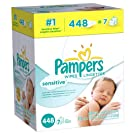 Pampers Sensitive Wipes -896 count