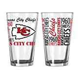Kansas City Chiefs Official NFL 16 fl. oz. Spirit Pint Glass …