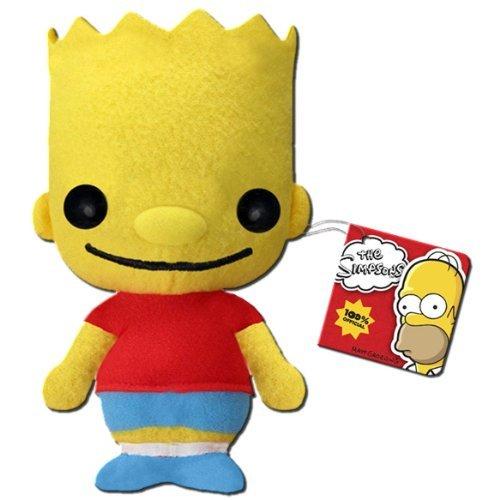 Funko Bart Simpson Plushie (Krusty Bobble Head)
