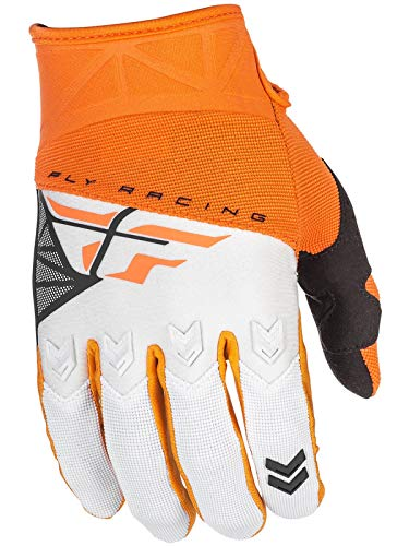 Fly Racing F-16 Race - Fly Racing 2018 F-16 Gloves (X-LARGE) (ORANGE/WHITE)