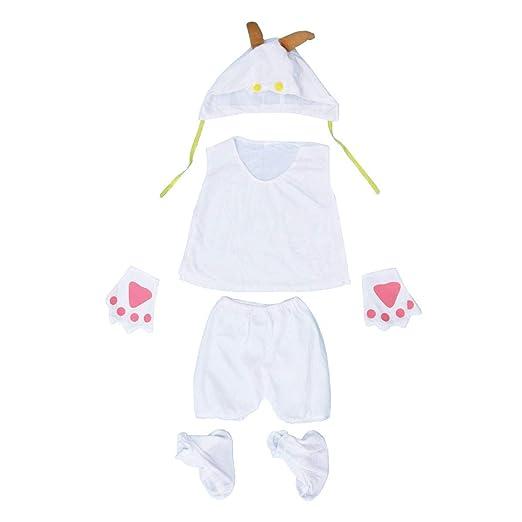 BESTOYARD Disfraz de Rendimiento para niños de Cinco Piezas ...