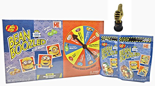 Bundle - Bean Boozled Minion Edition 12.6oz Game and 2  bags