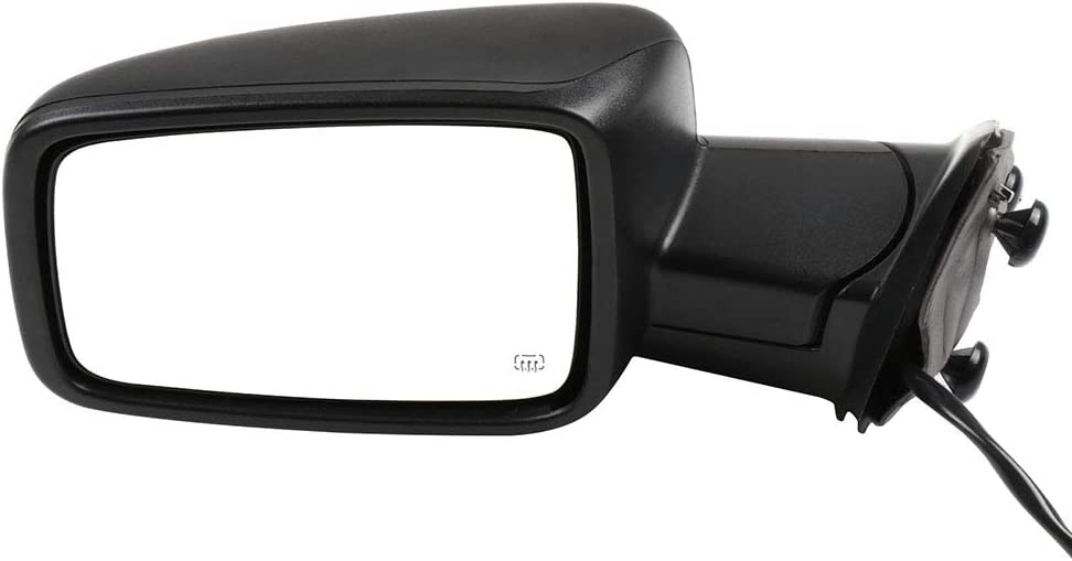 SCITOO Side View Mirror Driver Side Mirror Fit Compatible with 2011-2013 Dodge Ram 1500 3500 2011-2015 Ram 2500 2009-2010 Dodge Ram 1500 CH1320303