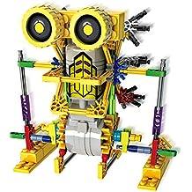 Alien Toys for Kids / Robotic Building Set / Battery Powered Robotic Kits / 3d Puzzles for Kids , 122 Parts(Kangaroo)