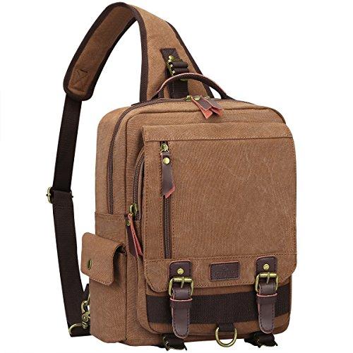 S ZONE 13 inch Messenger Shoulder Backpack