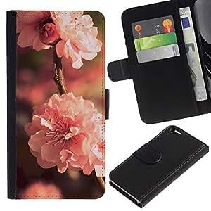 Leather Etui en cuir || Apple Iphone 6 || Flor Rosa @XPTECH