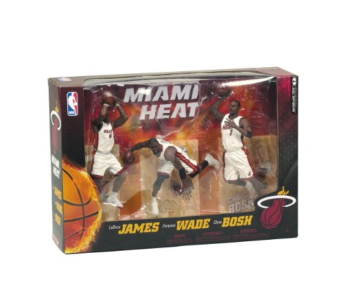 fan products of McFarlane Toys NBA Miami Heat 3 Pack